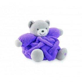 Accueil Kaloo doudou Kaloo Ours Violet fluo 18cms Neon Pantin