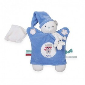 Accueil Kaloo doudou Kaloo Ours Bleu Bonnet Luminescent Imagine Marionnette