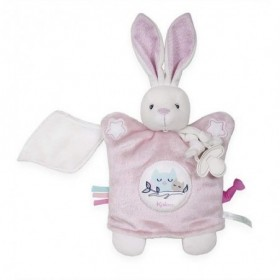 Accueil Kaloo doudou Kaloo Lapin Rose Luminescent Imagine Marionnette