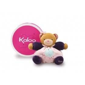 Accueil Kaloo doudou Kaloo Ours Rose Petite Rose Pantin