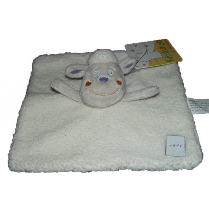 Accueil Kimbaloo doudou Kimbaloo Mouton Blanc La halle plat