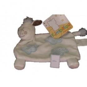 Accueil Kimbaloo doudou Kimbaloo Cheval Bleu mouton nuage bleu queue La halle plat