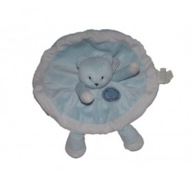 Accueil Kimbaloo doudou Kimbaloo Ours Bleu attention bebe craquant La halle plat