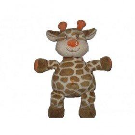 Accueil Kimbaloo doudou Kimbaloo Girafe Marron orange 28cms La halle Pantin
