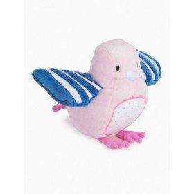 Accueil Kimbaloo doudou Kimbaloo Oiseau Rose petit oiseau rose aile bleu La halle Pantin