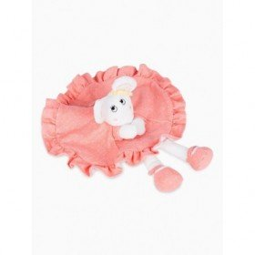 Accueil Kimbaloo doudou Kimbaloo Souris Saumon Little candy mouse corail La halle plat