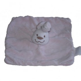 Accueil Kimbaloo doudou Kimbaloo Lapin Rose taché sur le dessus La halle Pantin