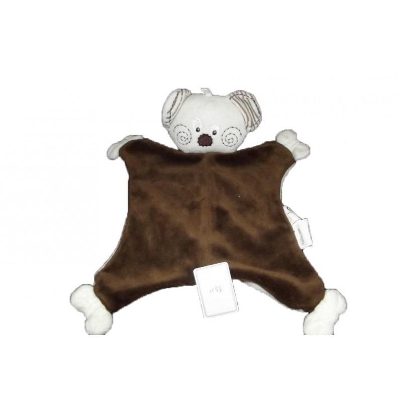 Accueil Mots d'enfants doudou Mots d'enfants Koala Marron  plat