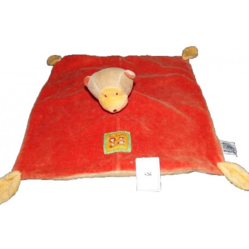 Accueil Moulin Roty Doudou Moulin Roty Singe Orange feuille jaune Les Loustics plat
