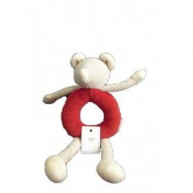 Accueil Moulin Roty Doudou Moulin Roty Souris Rouge  Hochet