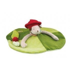 Accueil Moulin Roty Doudou Moulin Roty Souris Vert Valentine & Balthazar Plat