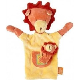 Accueil Moulin Roty Doudou Moulin Roty Lion Orange Les Loustics Marionnette