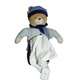 Accueil Babynat doudou Babynat Ours Bleu  Pantin