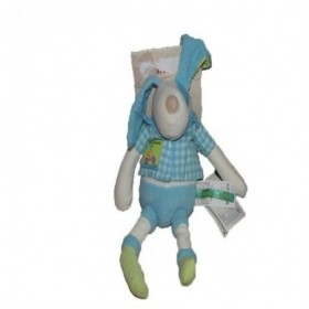 Accueil Moulin Roty Doudou Moulin Roty Chien Bleu 28cms Colette & Pinpin Pantin