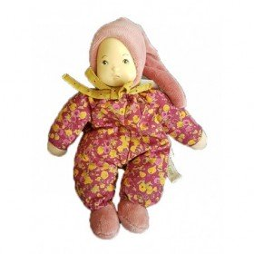 Accueil Moulin Roty Doudou Moulin Roty Poupee Rose 18cms Petite Chose Hochet