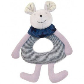 Accueil Moulin Roty Doudou Moulin Roty Souris Gris Rosalie Hochet