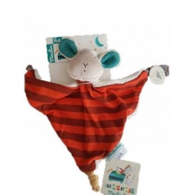 Accueil Moulin Roty Doudou Moulin Roty Mouton Rouge Zephyr Zig et Zag Plat
