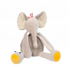 Accueil Moulin Roty Doudou Moulin Roty Elephant Marron Les Papoum Pantin