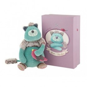 Accueil Moulin Roty Doudou Moulin Roty Chat Bleu Gros Chacha Les Pachats Pantin