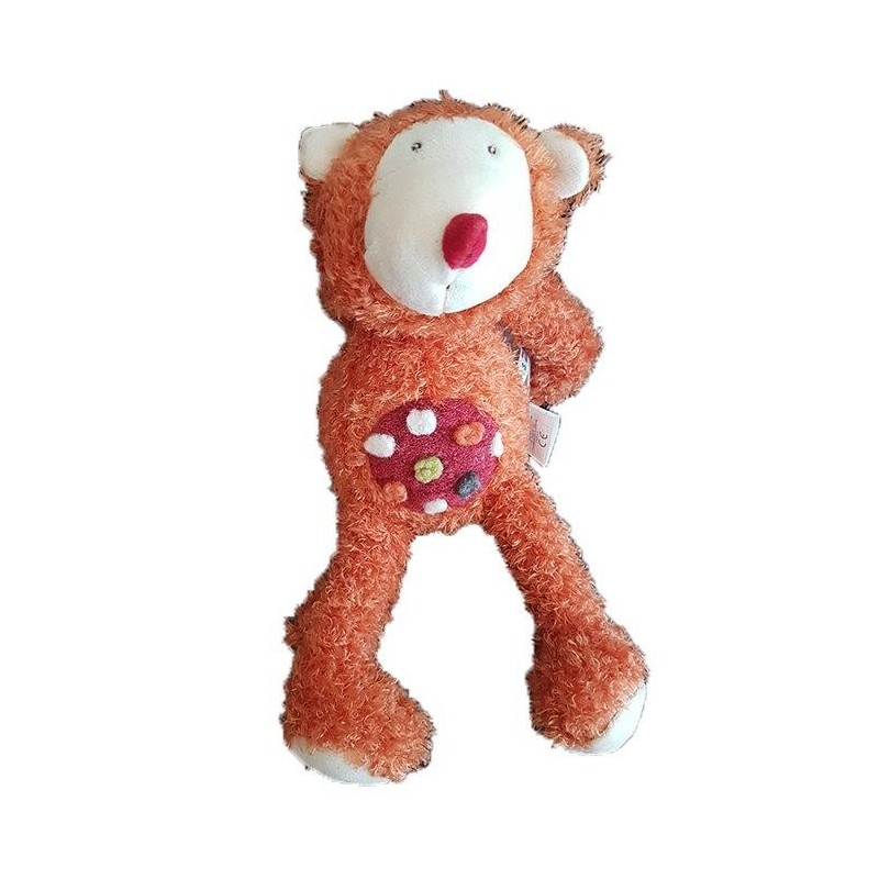 Accueil Moulin Roty Doudou Moulin Roty Singe Orange 30cms Zazou Pantin