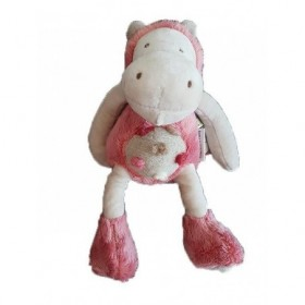 Accueil Moulin Roty Doudou Moulin Roty Hippopotame Rose Hippopo 24cms Zazou Pantin