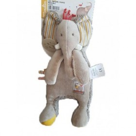 Accueil Moulin Roty Doudou Moulin Roty Elephant Marron Les Papoum Musical