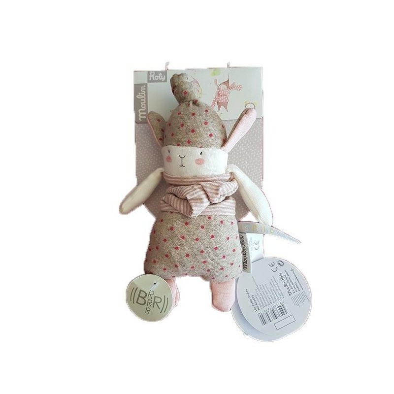 Accueil Moulin Roty Doudou Moulin Roty Lapin Rose Lulu 20cms Les Petits Dodos Vibreur
