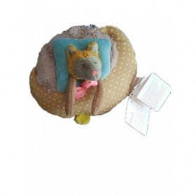 Accueil Moulin Roty Doudou Moulin Roty Loup Vert Coussins Tartempois Musical