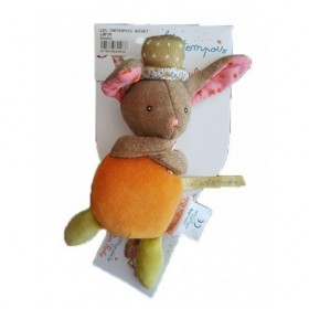 Accueil Moulin Roty Doudou Moulin Roty Lapin Orange 20cms Tartempois Hochet