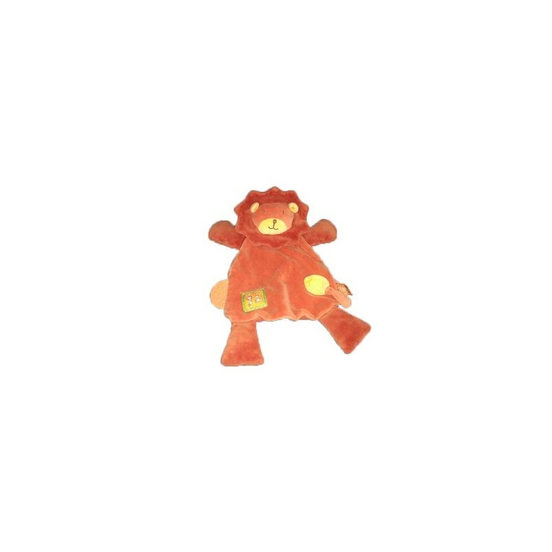 Accueil Moulin Roty Doudou Moulin Roty Lion Orange Dentition Les Loustics Plat