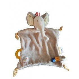 Accueil Moulin Roty Doudou Moulin Roty Elephant Beige Les Papoums Plat