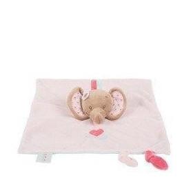 Accueil Nattou Doudou Nattou Elephant Rose Rose Plat