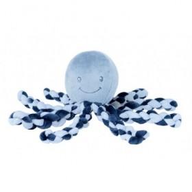 Accueil Nattou doudou Nattou Pieuvre Bleu Marine Octopus Pantin