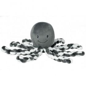 Accueil Nattou doudou Nattou Pieuvre Gris Gris Antracite Octopus Pantin