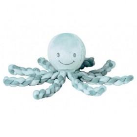 Accueil Nattou doudou Nattou Pieuvre Vert Gris Menthe Octopus Pantin