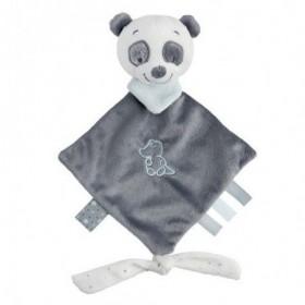 Accueil Nattou doudou Nattou Panda Gris Mini Loulou, Lea & Hippolyte Plat