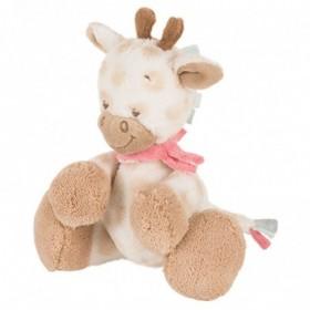 Accueil Nattou doudou Nattou Girafe Rose Mini Foulard 19cms Charlotte & Rose Pantin