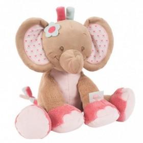 Accueil Nattou doudou Nattou Elephant Rose 28cms Charlotte & Rose Pantin