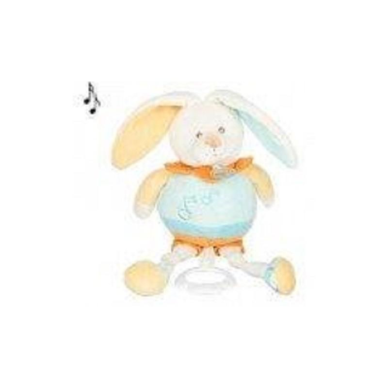 Accueil Babynat doudou Babynat Lapin Orange Les Gribouillis Musical