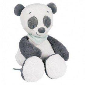 Accueil Nattou doudou Nattou Panda Gris et blanc Loulou lea & Hyppolite Pantin
