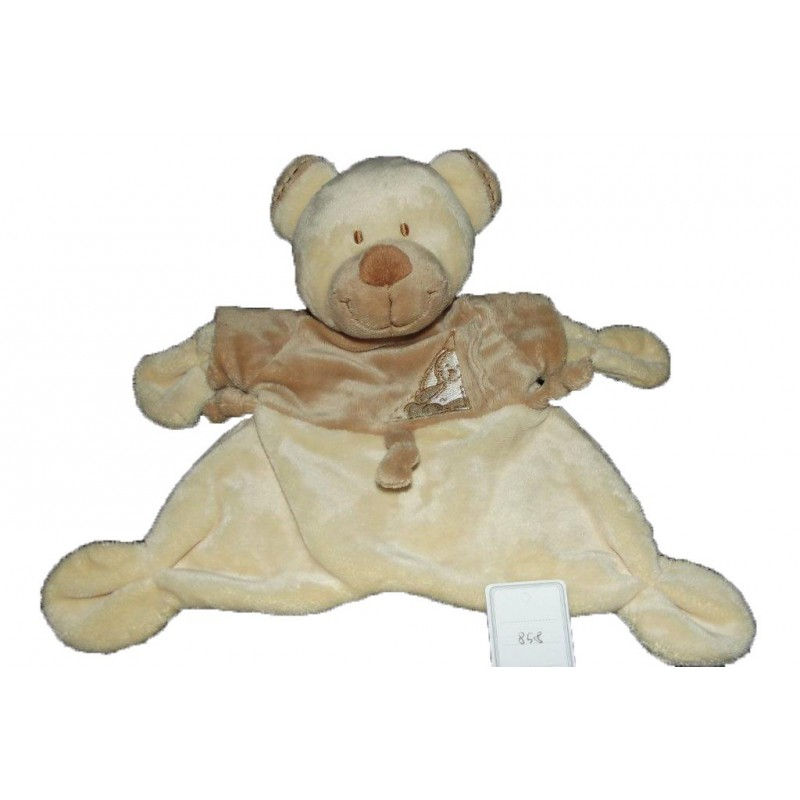 Accueil Nicotoy Doudou Nicotoy Ours Beige  plat