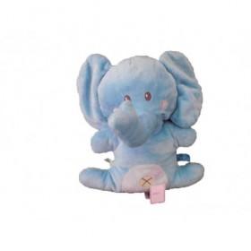 Accueil Nicotoy Doudou Nicotoy Elephant Bleu croix Pantin