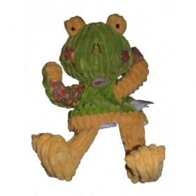 Accueil Babynat doudou Babynat Grenouille Vert patchwork jaune vert bn683 Patchwork Marionnette