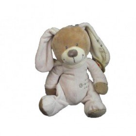 Accueil Nicotoy Doudou Nicotoy Chien Rose 31/50cms Cuddles Pantin