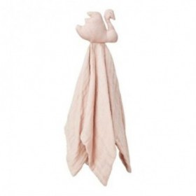 Accueil Camcam doudou CamCam Cygne Rose Swan Plat