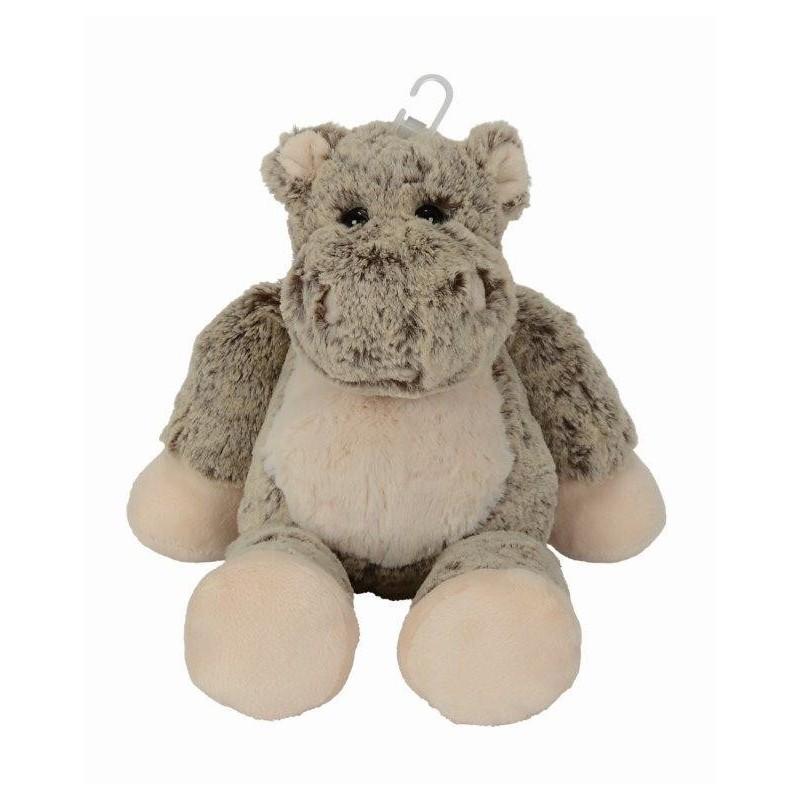 Accueil Nicotoy Doudou Nicotoy Hippo Marron longues jambes gris marron 35cms Floopy Pantin