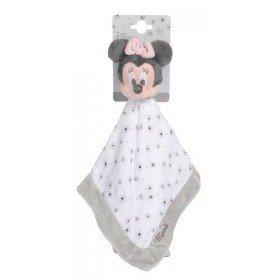 Accueil Nicotoy doudou Nicotoy Disney Minnie Gris Lange Plat