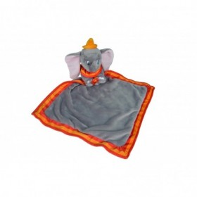 Accueil Nicotoy doudou Nicotoy Elephant Gris avec Mouchoir Orange Dumbo Pantin