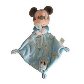 Accueil Nicotoy doudou Nicotoy Personnage Bleu Losange Fusee Mickey Plat