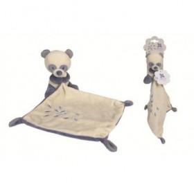 Accueil Nicotoy doudou Nicotoy Panda Bleu mouchoir Panda Bleu Pantin